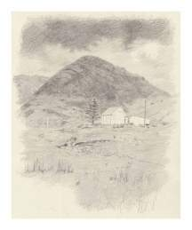 70 Berg, Wolke & Haus in Connemara
