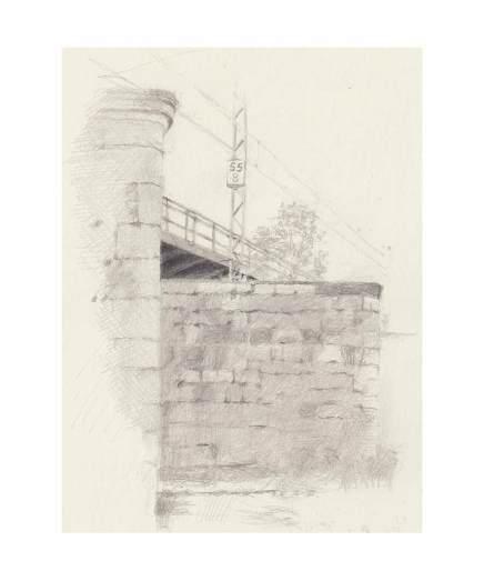 83 Eisenbahnbrücke bei Hoppingen